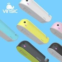 Vinsic 10050 мАч с изображением Кита внешний Батарея Зарядное устройство 5 В/2.4A Мощность банка с телефона держатель для iPhone Samsung Galaxy S7 Xiaomi