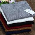 Nuevo 2017 otoño invierno suéter de alta elasticidad mujer suéter de Cuello Alto Sólido delgado atractivo apretado de Punto de Tocar Fondo Pullovers WS-092