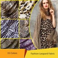 JaneYU 100*150 cm/piece Leopard in vải flannel vải sang trọng Ngắn zebra/bò/sofa Hổ đệm diy chắp vá 15 colors