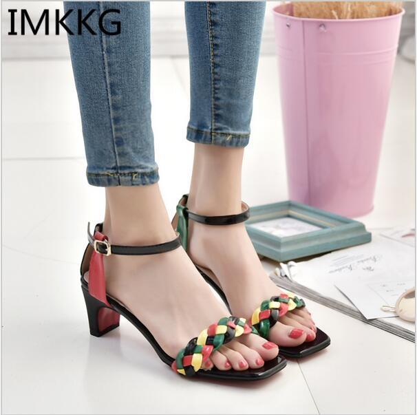 High quality 2017 Donna Sandalo 2017 quality Sexy Valentine scarpe Woman ankle   5a5d12