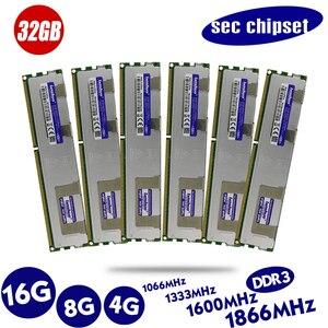 Image 3 - оперативная память ddr3 кулер 4 ГБ DDR3 1333 МГц 1600 МГц 1866 МГц радиатор 1333 1600 1866 REG ECC серверная память 8 ГБ 8 ГБ 16 ГБ ОЗУ радиатор x79 LGA 2011 компьютерные игры x79 комплект 2011 материнская плата