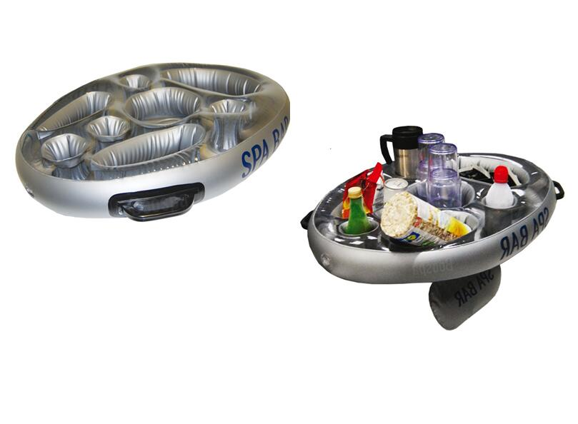 New Inflatable Spa Bar Hot Tub Floating Drinks and Food Holder Tray