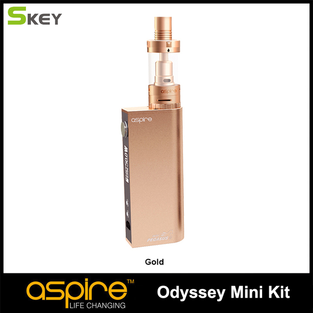 Aspire Odyssey Mini Kit с 2 мл aspire Тритон Мини бак и Pegasus mini mod температура управления e-cigarette kit hot продажа