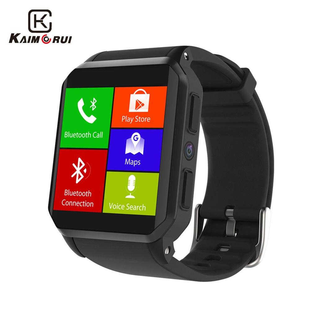 Kaimorui Smart Watch Android 5.1 IP68 Waterproof Bluetooth Smartwatch with SIM C