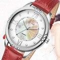 VILAM Top Brand Кожаный Ремешок Женщины Часы Кристалл Алмаза Платье Дамы Случайные Кварцевые Часы Спортивные Наручные Часы Кварцевые часы