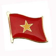 Марокко флаг Булавки бабочка кнопки сделаны железа латунные пластины окрашены и эпоксидной Добро пожаловать Индивидуальные moq300pcs плата корабль Булавки g