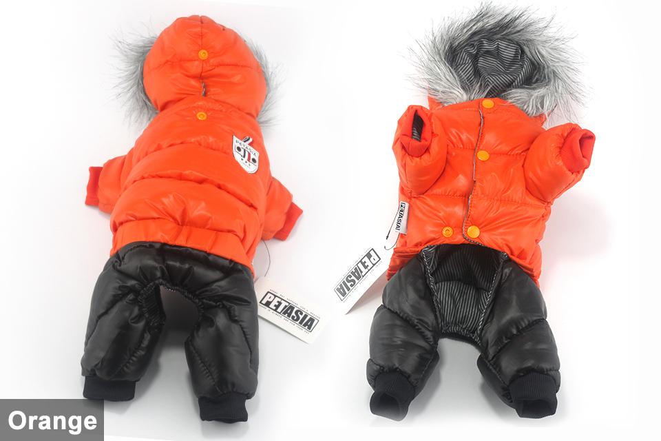Chaqueta impermeable de invierno para perro 12