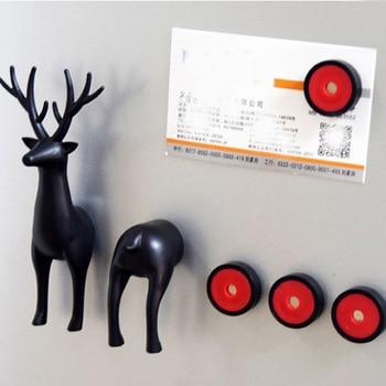 Artificial Animal Design Fridge Magnet Home Improvement Refrigerator Education Kids Toys Souvenir Wall Sticker