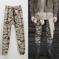 Aolamegs Casual Camo Pants Men Fashion Slim Fit Jogger Pants 2016 Autumn Winter Elastic Waist Joggers Camouflage Sweatpant M-XXL