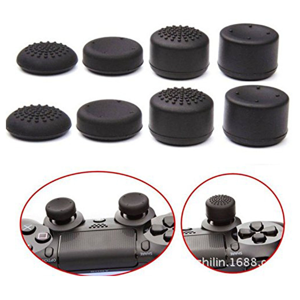 8pcs-lot-enhanced-silicone-analog-controller-thumb-stick-grip-cap-skin-cover-for-sony-font-b-playstation-b-font-4-ps4-controller-ps4-slim-pro