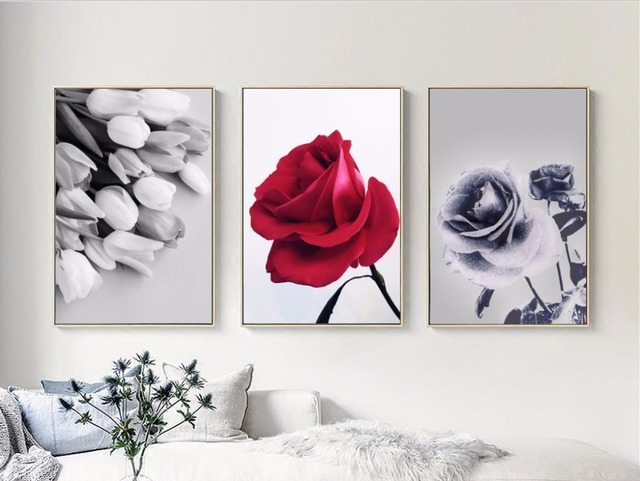 aliexpress.com : acquista nordic semplice in bianco e nero rosa ... - Soggiorno Bianco E Rosa