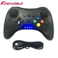 50 шт. Pro Радио пульт дистанционного управления беспроводной геймпад игровой джойстик corlorful pad световой индикатор для W-i-U Pro с USB