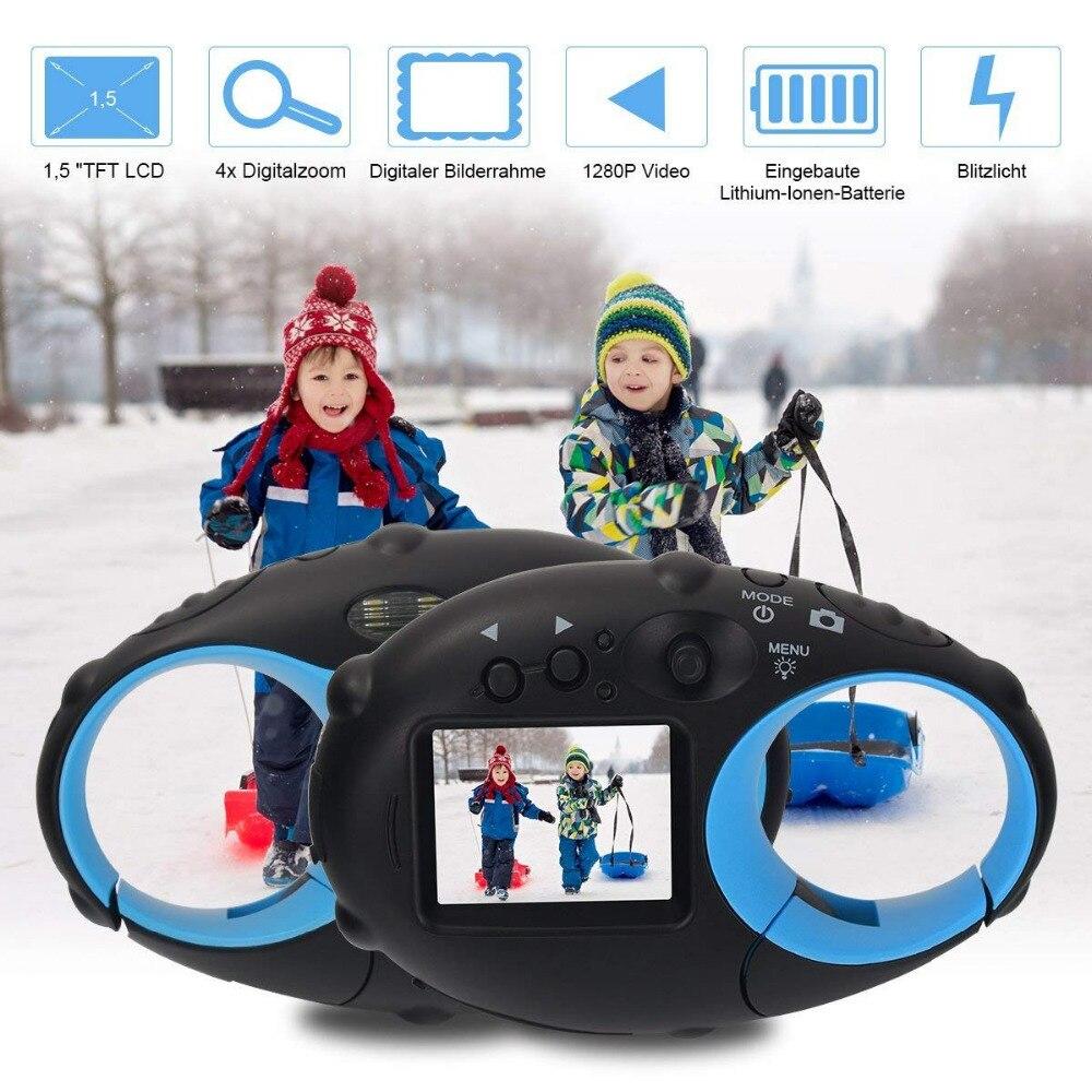 Appareils photo numériques pour enfants appareils photo pour enfants avec cadre enfants cadeaux de noël pour garçons filles caméscope vidéo 5MP 1.5 pouces