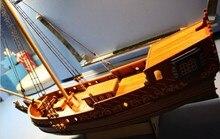 Wooden Yacht Model Kit