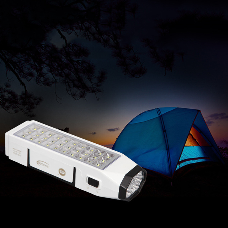 Led Camping Light Rechargeable Energy Saving 38Leds High Bright Emergency Lights 1100MAh Capacity Camping Lamp For Camping Home