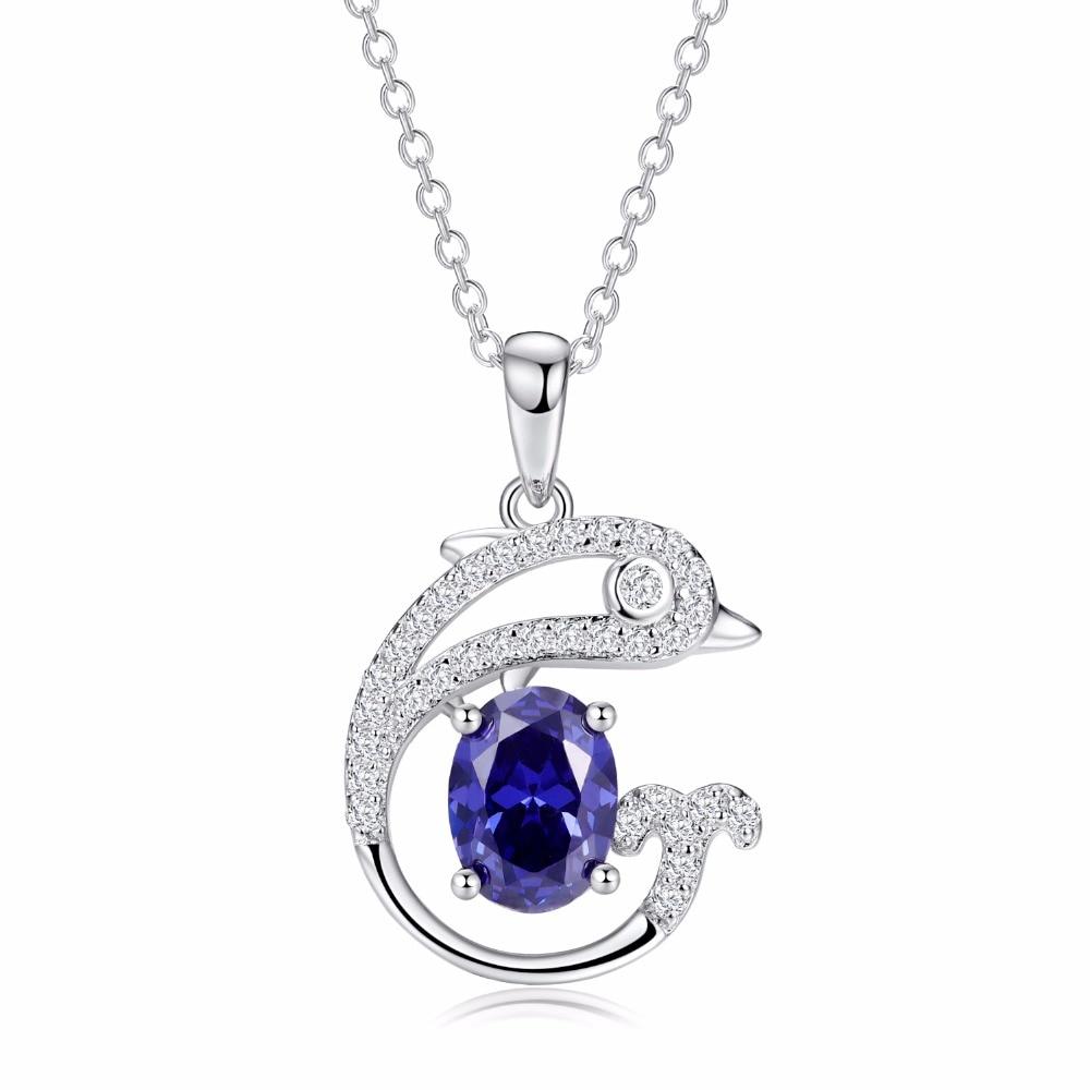 Tanzanite 925 Stling Silver Pendant With Chain