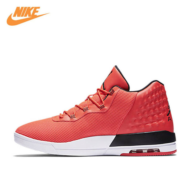 Nike Original New Arrival Air Men's High Top Breathable Basketball Shoes  Sneakers 844515-605