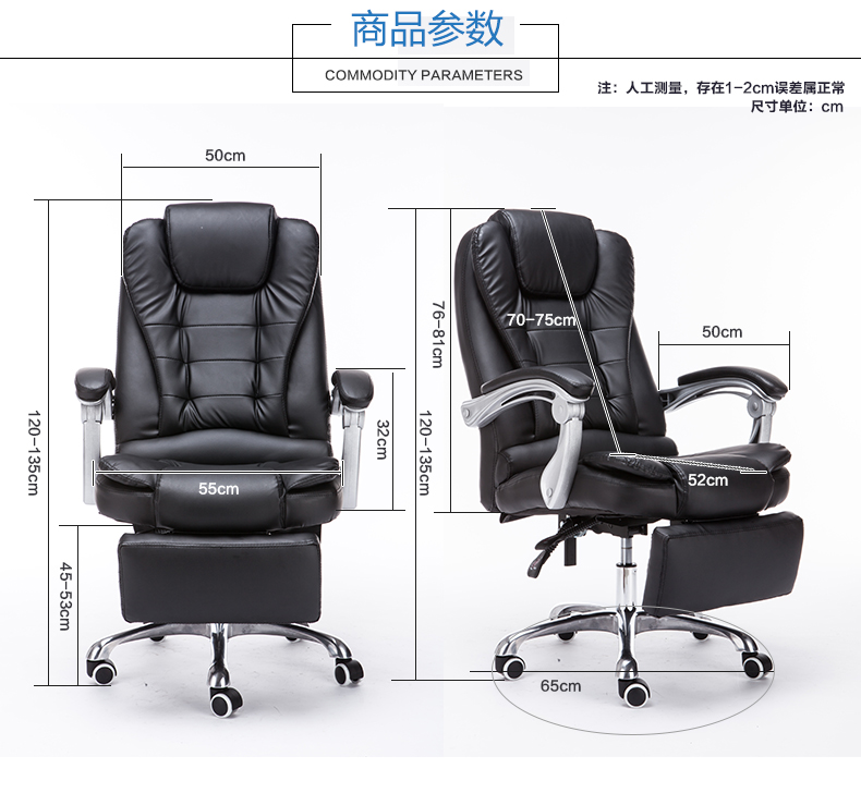 luxury leather office chair. aliexpresscom buy louis luxury high back executive faux leather office chair swivel recliner and footstool computer boss chair black from reliable luxury leather office e