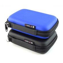 Мини-сумка для хранения на молнии, водонепроницаемая сумка EVA для путешествий, чехол для наушников, кабель для передачи данных, зарядное устройство, портативный карман для гаджетов