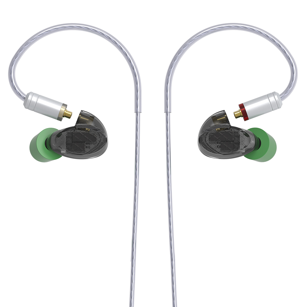 Image 3 - AK YINYOO T500 5BA Balanced Armature In Ear Earphone HIFI Monitoring Earphone Detachable MMCX Cable DJ Sport Earbud Headplug-in Earphones from Consumer Electronics