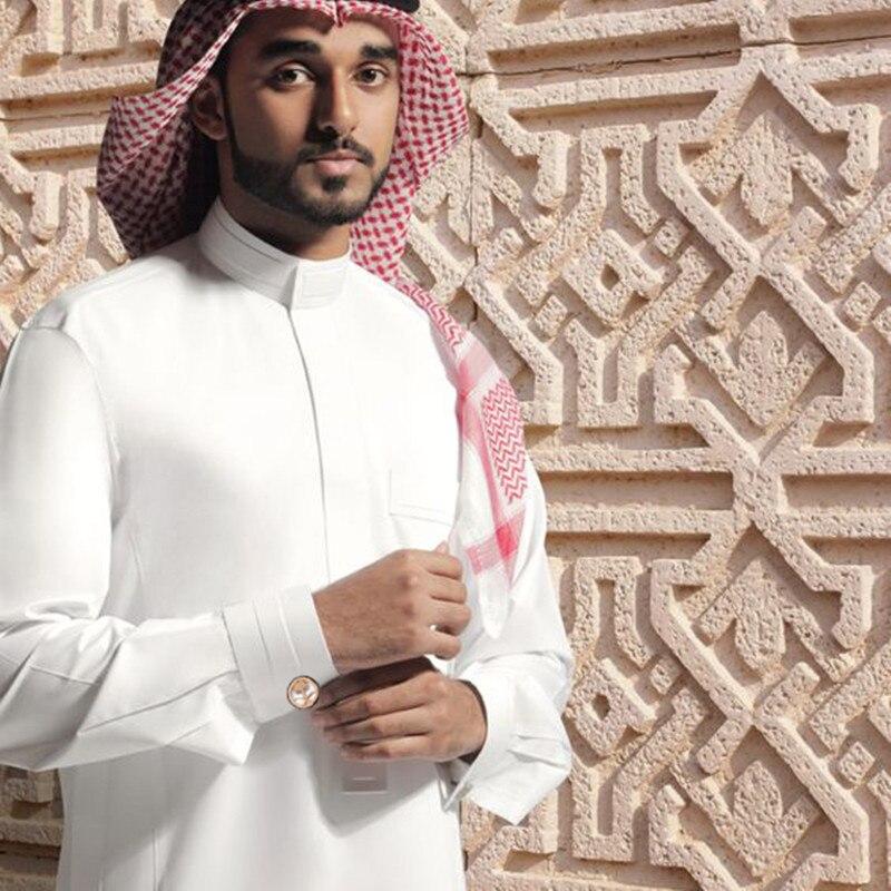 Image 4 - HAWSON Arabic Style Cufflinks Palm Tree with Crossed  Tulwars/Machetes Special Design for Muslim People of Middle East Arab  Robecufflinks for mensflag cufflinkscufflinks men