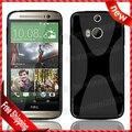 Caso HTC One TPU, para M8 Dual Sim Anti - skid X - projeto, x Soft Line para M8 Dual Sim