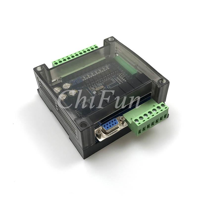 High Speed FX1N FX2N FX3U-14MR/10MR Industrial Control Board 6AD 2DA PLC With 485 Communication Protocol