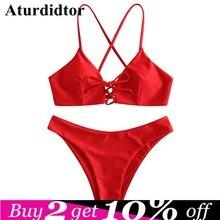 b9bed37e9cfe Red Bikini Cross - Compra lotes baratos de Red Bikini Cross de China ...