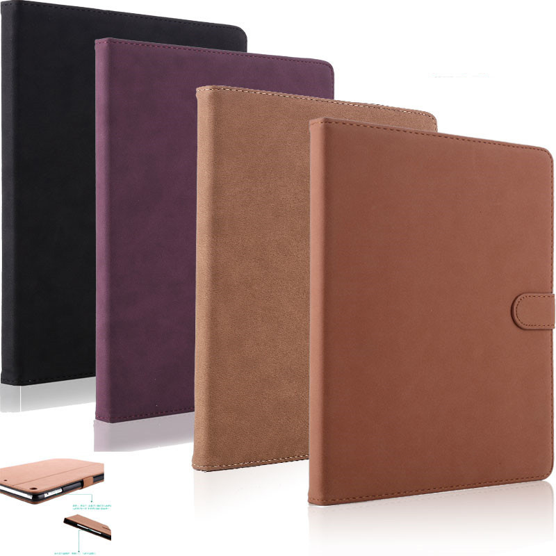 Case for iPad Mini 1 2 3 Coque Retro Luxury Matte PU Leather Ultra Slim Shockproof Cover Case for iPad Mini 1 2 3 Capa Para