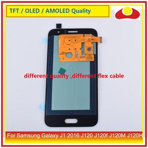 """Image 5 - ORIGINAL 4.5"""" For Samsung Galaxy J1 2016 J120 J120f J120M J120H LCD Display With Touch Screen Digitizer Panel Assembly Complete"""
