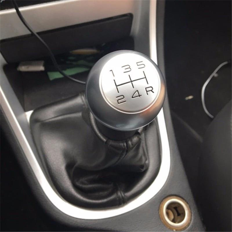 Car Styling Stainless Steel Manual Gear Shift Knob VTS Sport Handball For Peugeot 307 308  508 206 207 301 3008 Sega Picasso C4L gear shift