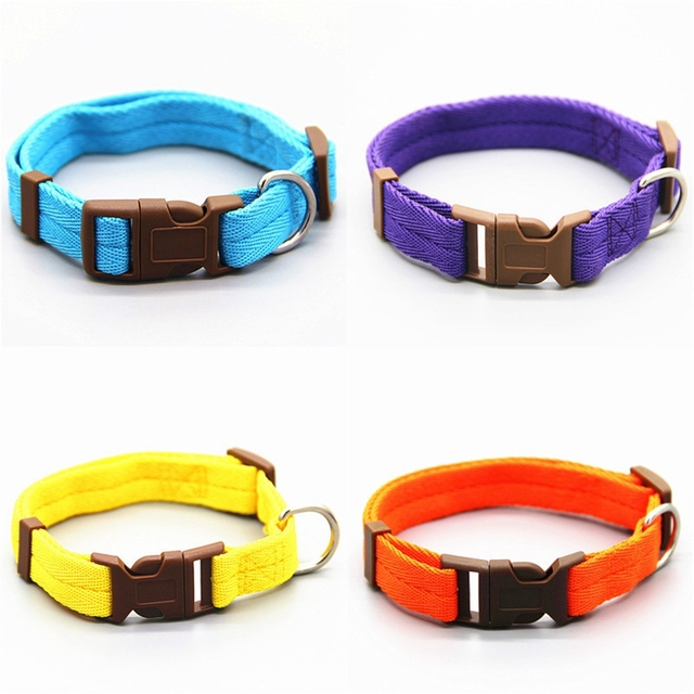 Dadugo Pet dog collar nylon adjustable clip buckle dog collars head collars size S/M/L/XL puppy large dropshipping 2