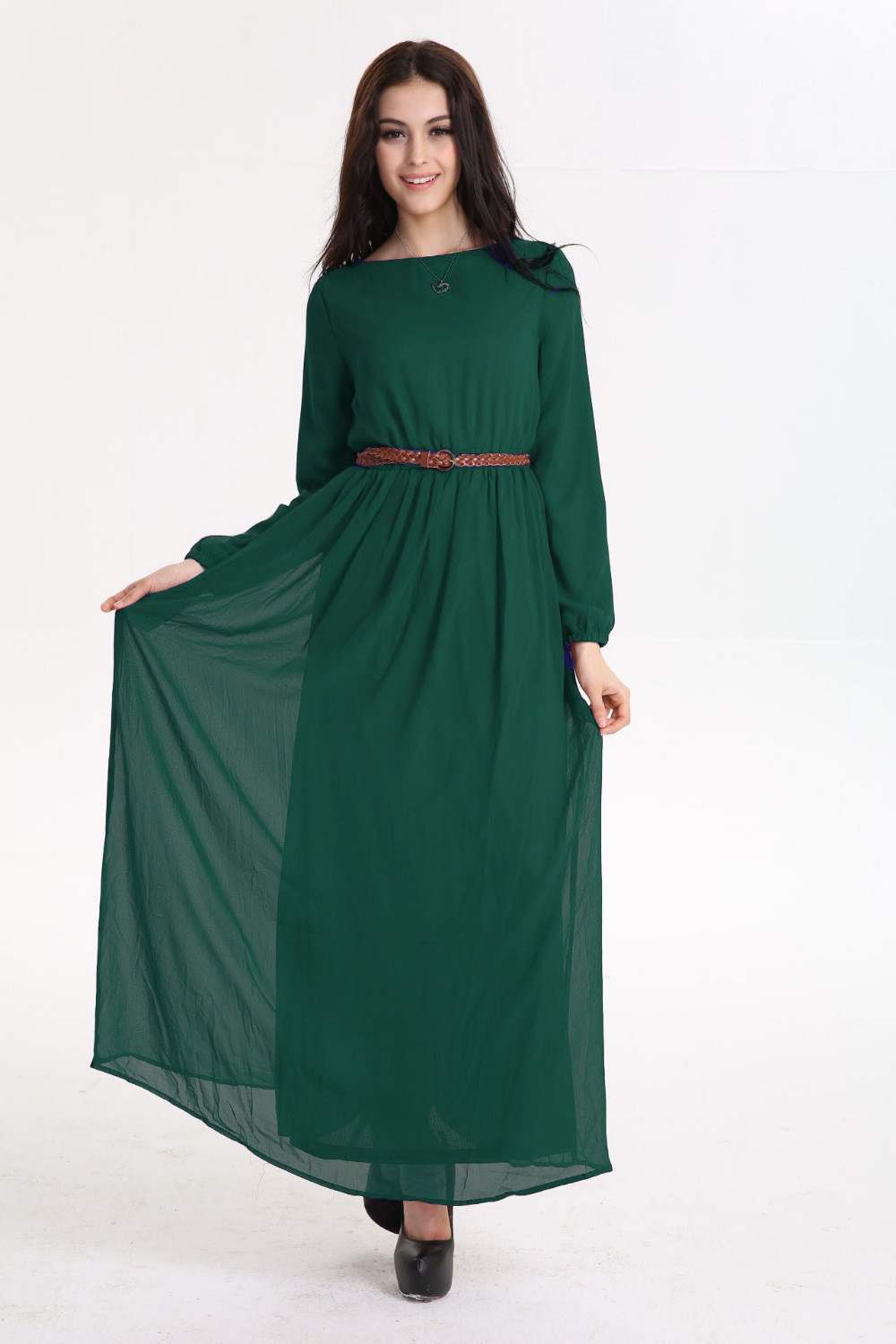 Arab Femal Long Dress Muslim Women Summer Dresses Islamic Fashion Kemeja Lavender Contrast Multicolor Shop At Velvet Minor Color Difference Maybe Existed Please Understand And Thank You Very Much