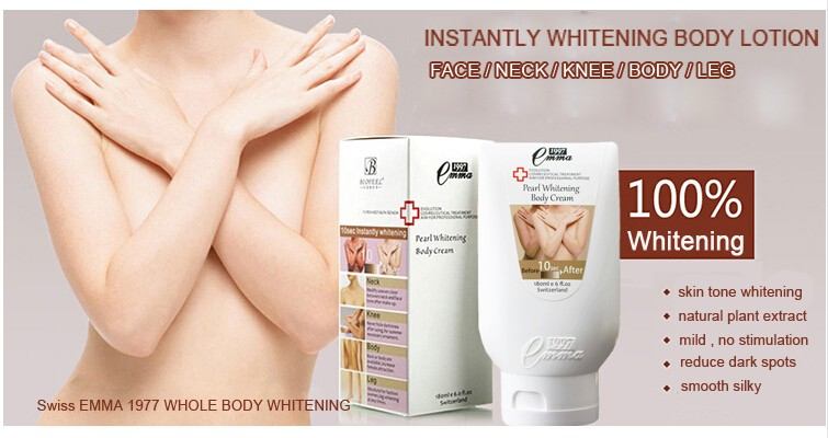 Whitening Body Cream 10 second Instantly whitening Body Lotion Skin Care Moisture for whole body 180ML Free Shipping 1