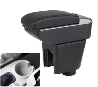 For Chevrolet LOVA armrest box central Store content Storage Chevrolet aveo armrest box with cup holder ashtray USB interface in Chromium Styling from Automobiles Motorcycles