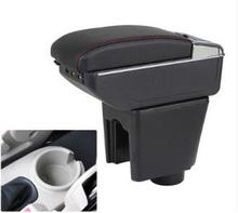 цена на For Chevrolet LOVA armrest box central Store content Storage Chevrolet aveo armrest box with cup holder ashtray USB interface