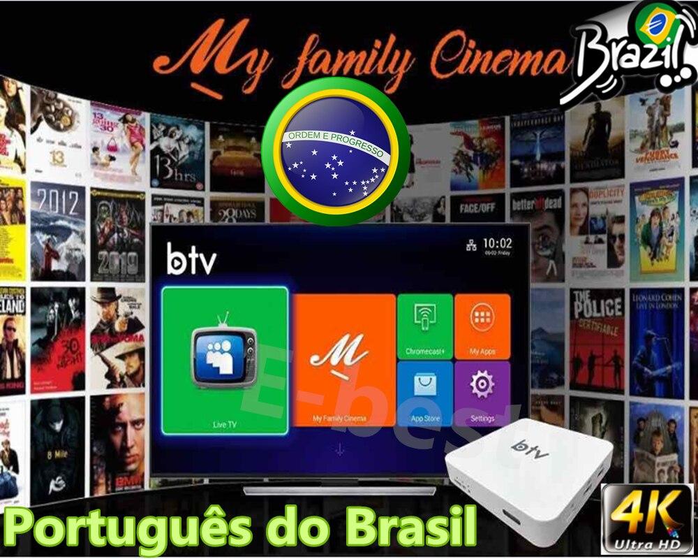 BTV B9 HTV BOX Brazilian Portuguese Internet IPTV Box Live