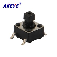 50PCS TS-D006 6*6*7.3 Long life tact switch 4 pin SMD/SMT Square top push button switch