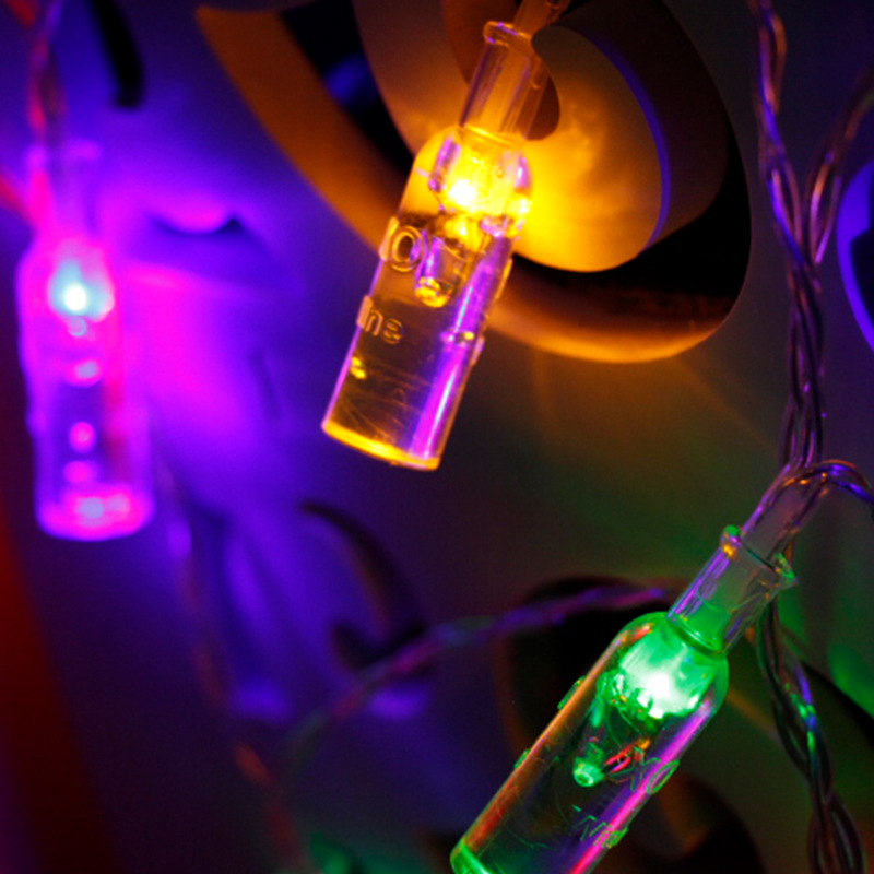 XO LED String light 10M 3AA Battery Powered USB Copper Wire String Lights Outdoor Fairy Light for Xmas Garland Party Wedding in LED String from Lights Lighting