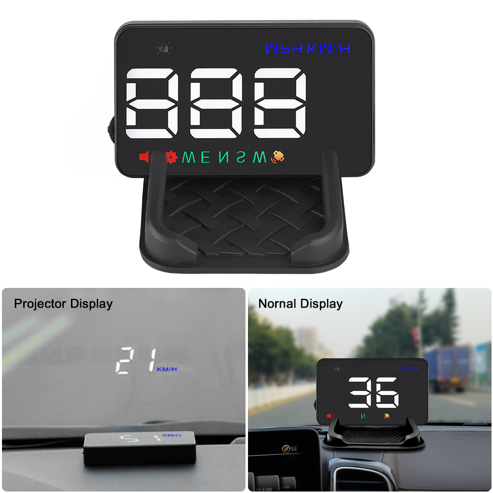 GEYIREN A5 Universal Car HUD GPS Satellite Head Up Display Overspeed Warning Voltage Alarm For All Car and Trucks-in Head-up Display from Automobiles & Motorcycles