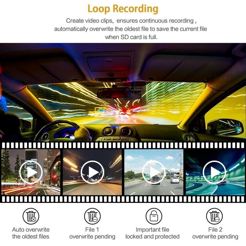 Image 4 - 6 IR светодиодный 1080 P Автомобильный видеорегистратор камера видеорегистратор Автомобильный видеорегистратор 2,7 дюймов ночного видения видеорегистратор для автомобиля-in Видеорегистратор from Автомобили и мотоциклы