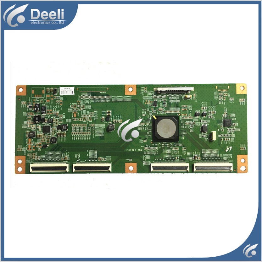 Подробнее о 95% New original for Logic board Tcon board WQL-C4LV0.1 For Sony KDL-46HX750 to LTY460HQ05 good Working good working original used board for frcm tcon v0 1 ltf400hc01 frcm tcon v0 1 95