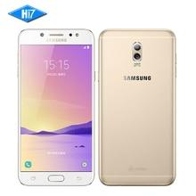 Новый оригинальный Samsung Galaxy C8 SM-C7100 4 г Оперативная память 64 г Встроенная память 16MP Фронтальная камера Dual SIM Octa core android 7.1 LTE смартфон