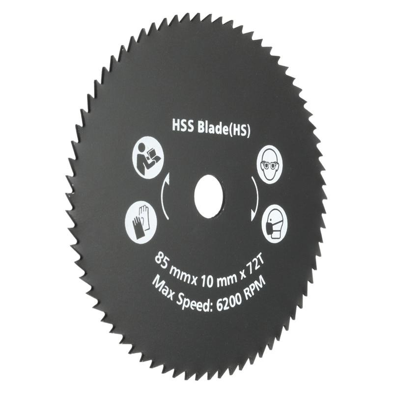 El más nuevo 1PC 85mm 72T HSS Hoja de sierra circular Disco de corte - Hojas de sierra - foto 3