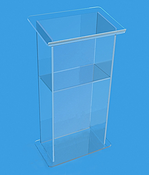 Free Shipping Artistic Acrylic Church Lectern / Pulpit Of Bright Acrylic Church