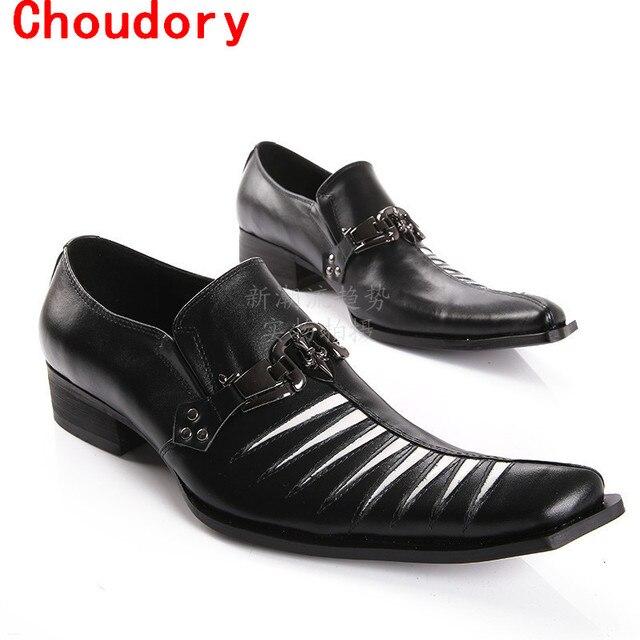 mariage chaussure zapatos italianos hombres de cuero de piel de