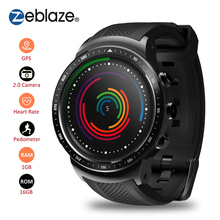 Zeblaze THOR PRO 3G GPS Smartwatch 1GB RAM+16GB ROM 1.53inch MTK6580 Camera Smart Watch WIFI Bluetooth 4.0 Wearable Devices