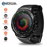 Zeblaze Thor PRO 3g gps Smartwatch 1 ГБ ОЗУ + 16 Гб ПЗУ 1,53 дюймов MTK6580 камера умные часы с WIFI Bluetooth 4,0 Носимых устройств