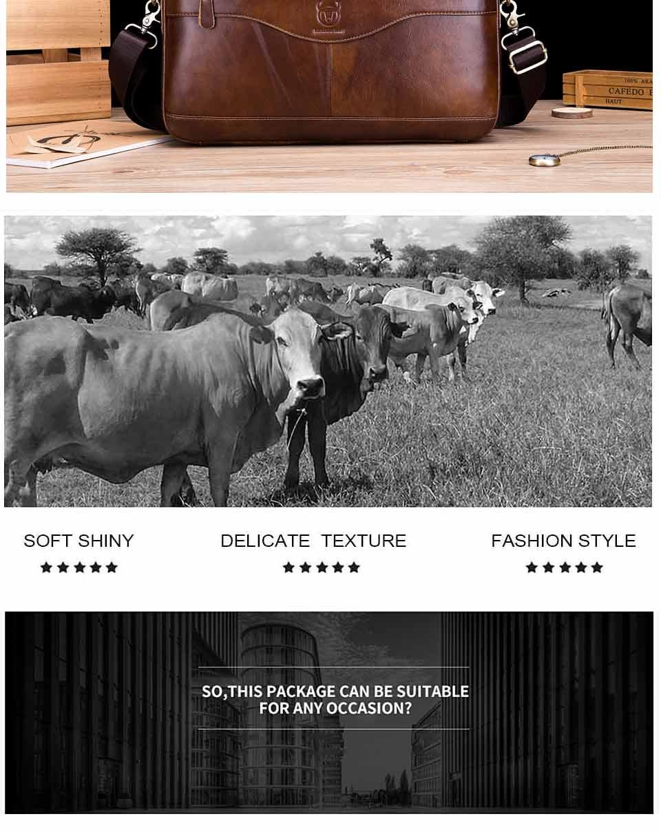 Bullcaptain 2019 nova moda de couro masculino