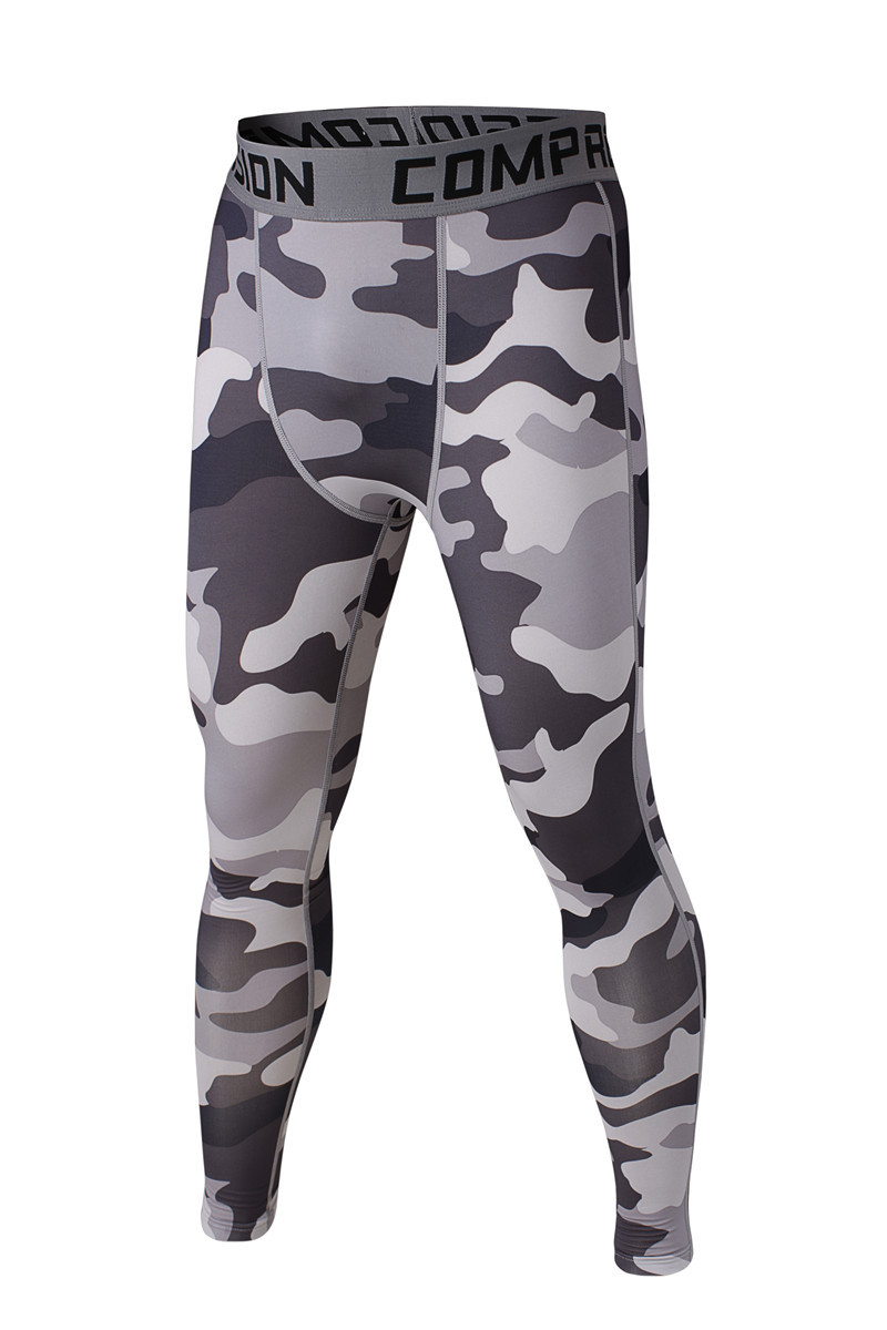 820514baae 2015 Summer Men Skins Camouflage Compression Pants Sport Running Basketball  Army Camo Bodybuilding #8435William | Ania.Asia